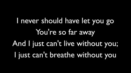 • New 2011 • Simple Plan - Never Should Have Let You Go - Lyrics / H D