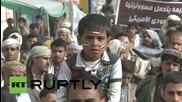 Yemen: Thousands take to Sanaa's streets to condemn Saudi-led strikes