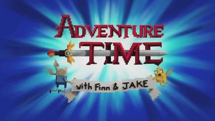Adventure Time (време за приключения) интро в Лего стил (24 октомври,2014)