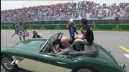 Ето как пилотите от Формула 1 приветстваха феновете в Канада