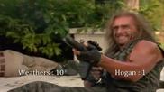 Войни на мрака 1 (1997) - Брой убийства -хълк Хоугън и Карл Уедърс