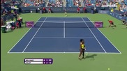 Cincinnati 2015 Final Serena Williams vs Simona Halep Set-2
