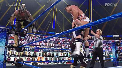 Rey Mysterio & Dominik Mysterio vs. Otis & Chad Gable: SmackDown, Feb. 26, 2021