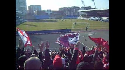 черноморец 2 - 0 Ц С К А (04.03.2012) - Але напред червените !