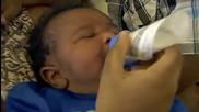Невероятно!над 14-килограмово бебе гигант се роди по естествен път в флорида