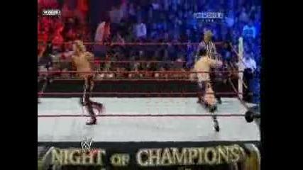Night Of Champions 2010 - John Cena vs Sheamus vs Edge vs Jericho vs Orton vs Barrett ( Wwe Title)