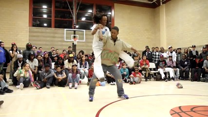 Flexing vs Turf Dancing - Yak Films - Get Wet Ent. presents N.y. vs Bay San Francisco