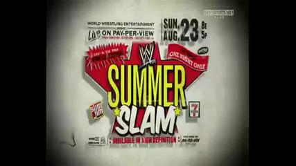 Wwe Summerslam 2009 Official Promo