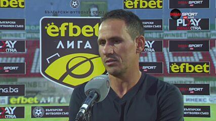 Живко Миланов: Заслужена победа за Ботев Враца, нямаше желание и агресия