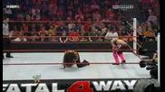 Wwe Fatal 4 Way Hart Dynasty vs. The Usos & Tamina part 2
