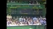 Hohn Mcenroe vs Ivan Lendl. Wimbledon 1983