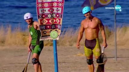 Игри на волята: България (06.11.2019) - част 2: Юлиян и Пламен спечелиха победата за Траки!