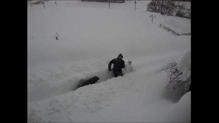 Машины под снега
