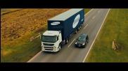 Нова технология на Samsung за безопасно изпреварване на камиони