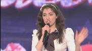 Момиче имитира известни личности america_s Got Talent