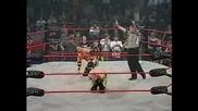 Christian Cage побеждава Joe и Styles - Elimination Match