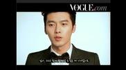 Hyun Bin Tang Wei Vogue Making (moments Of Love)