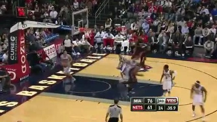 Miami Heat @ New Jersey Nets 101 - 90 [07.01.2012]