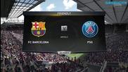 Fifa 15 Pc Gameplay { Barcelona vs. Paris Saint-germain }