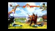 Super Street Fighter 4 - Oni(me) vs. M. Bison (4 Ultra Finishes)