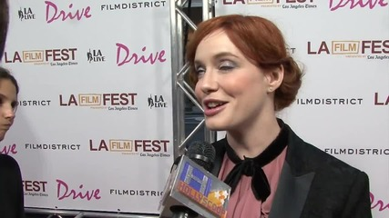 Christina Hendricks Throws Shade at 'Mad Men' Creator Matthew Weiner