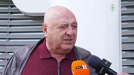 Венци Стефанов: Безкрайно негативно настроен съм към хора, които не са побеждавали големи отбори