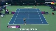 Toronto 2015 Ana Ivanovic vs Belinda Bencic Set-2