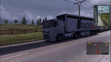 Euro Truck Simulator 2 - геймплей епизод [•18•] С аверчета (яко лигавене + интро ;дд)