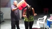 janie jaimes ice water challenge - dj manny tampa