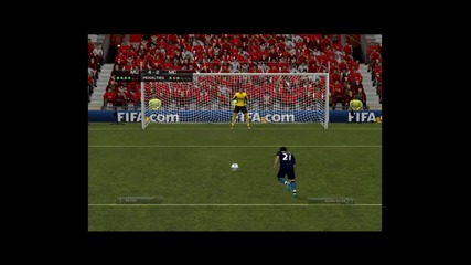 fifa 12 Penalty Kick E3 Манчестър Юнайтед vs Манчестър Сити