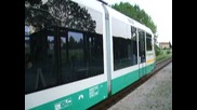 """Регионалния влак """"vogtlandbahn"""" тръгващ от Цвикау и стигащ до Карлови вари чехия"""