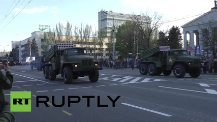 Ukraine: V-Day parade will go ahead even if Kiev objects say DPR