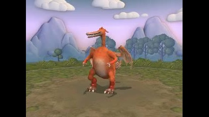 My Spore Creations - Charizard