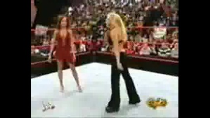 Trish Slaps Christy
