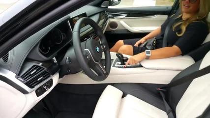 2015 Bmw X6 паркира напълно само (parking Assist)