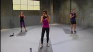 Hiit workout (high Intensity Intervals Training), интензивна тренировка вкъщи- горна част