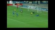 Левски - Лацио 0:2 на почивката