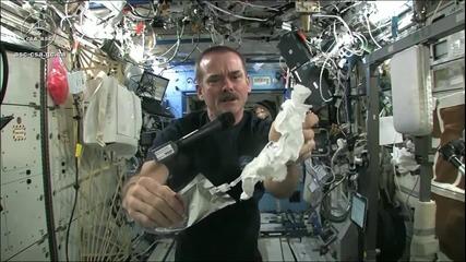 H2o в космоса