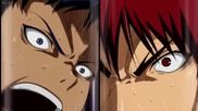 Kagami Vs Aomine (zone) [hd]