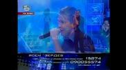Ана и Ясен - един любовен романс на сцената и целувка за финал - music idol - 12.05.08 HQ