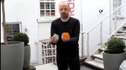 Какво може да се направи за 20 сек.с три кубчета Рубик
