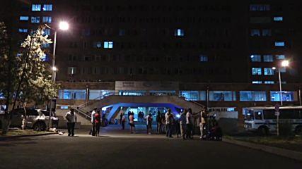 Armenia: Two gunmen rushed to hospital after night of gunbattles