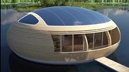 Водно гнездо: екологична къща, която се захранва от слънчева енергия