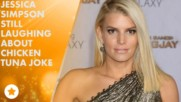 Jessica Simpson pokes fun at chicken-tuna blunder