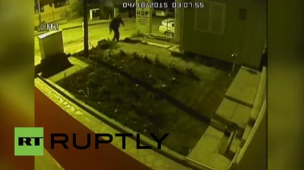 Turkey: CCTV captures drive-by shooters attacking Kurdish party HQ
