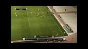Pes 12: Великолепен гол на C. Ronaldo