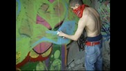 New Clip !!! Tru One Graffiti Green N Blue