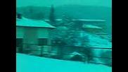 село Света Петка - зимата