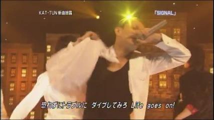Kat-tun - Signal (live 2006.07.16 utawara)