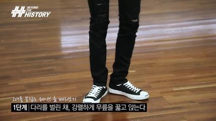 History(히스토리) - [behind] Might Just Die Choreography Lesson(죽어버릴지도 몰라 안무 포인트 레슨) [eng-jpn Sub]